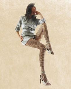 Ženske čarape - Large Net